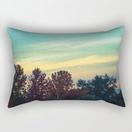 Protean Autumn Sky Rectangular Pillow