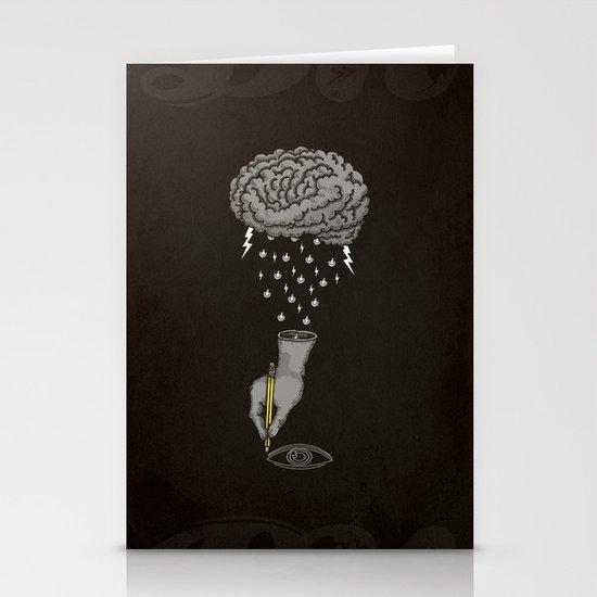 Brain Storm Stationery Cards