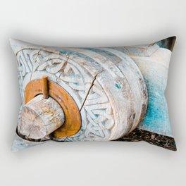 Celtic Trebuchet Wheel Rectangular Pillow