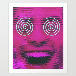 LOL - Laughing Out Loud Art Print