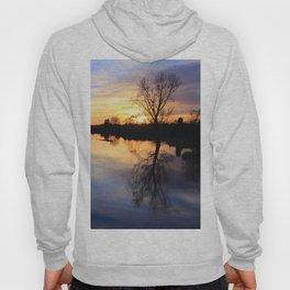 Floodplain at Sunset 1 Hoody