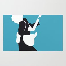 No065 MY ACDC Minimal Music poster Rug