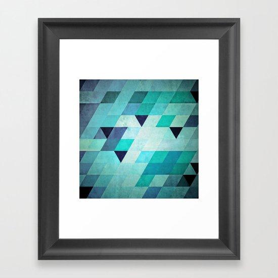 frysty Framed Art Print