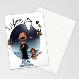 Lisboa Menina e Moça Stationery Cards