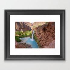 Havasu Falls Framed Art Print