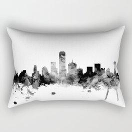 Dallas Texas Skyline Rectangular Pillow