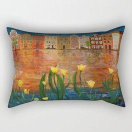 Shimmerings II Rectangular Pillow