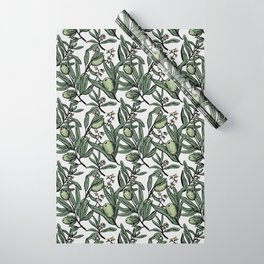 Olives pattern Wrapping Paper