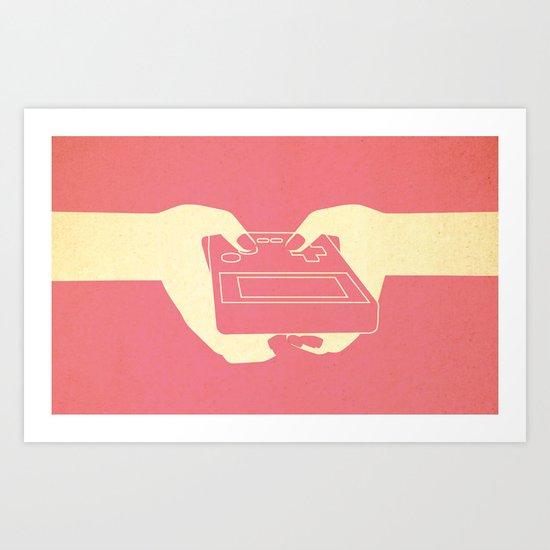 g-girl Art Print