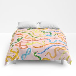 Snakes and Frogs Comforters