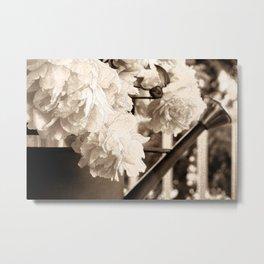 Farmhouse Bouquet Metal Print