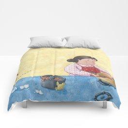 Lemon Poppy Seed Bundt Cake Comforters