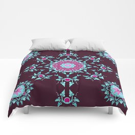 red berry pattern Comforters