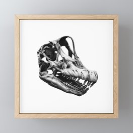 Brachiosaurus Framed Mini Art Print