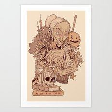 Black Magic Art Print