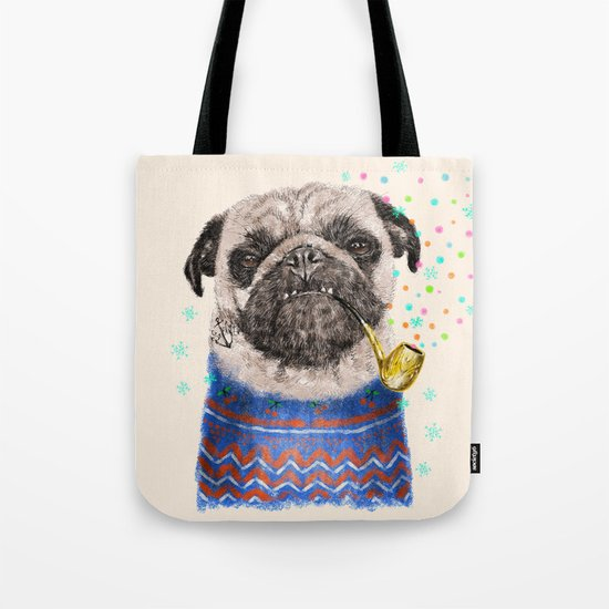Mr.Pug II Tote Bag