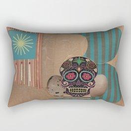 Threes Rectangular Pillow