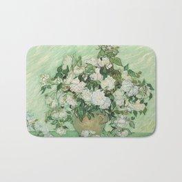 Vincent van Gogh - Roses Badematte