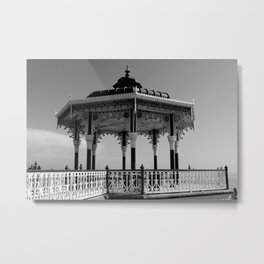 Victorian Bandstand Metal Print