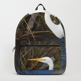Just Right (Great Egret) Backpack