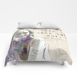 What gets baby in... Ina May Gaskin Comforters