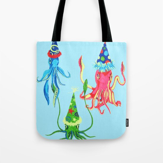 Party Squad Tote Bag