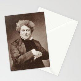 Alexandre Dumas Portrait Stationery Cards