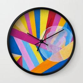 Fragments 1 Wall Clock
