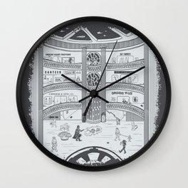 Darth Mall Wall Clock