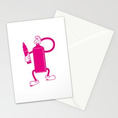 Mr Spray Can Stationery Cards