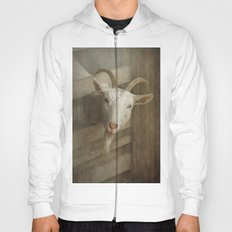 The curious goat Hoody