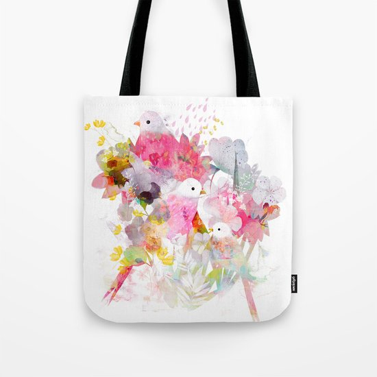 The Magical World of Birds Tote Bag