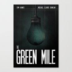 Green Mile Canvas Print