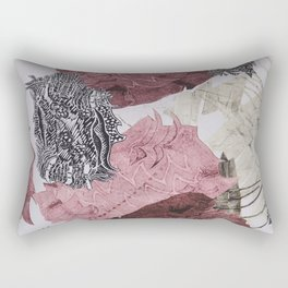 Carbonation Collection: pink Rectangular Pillow