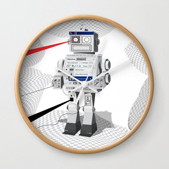Photobot Wall Clock
