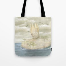 Island King Tote Bag