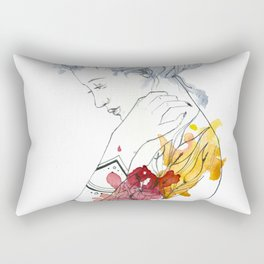 Sibling Rectangular Pillow