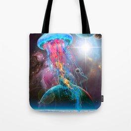 Super Space Jellyfish Tote Bag