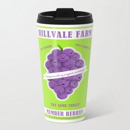Hillvale Farms Member Berries Metal Travel Mug