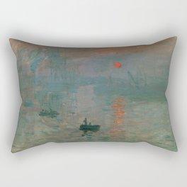 Impression, Sunrise Rectangular Pillow