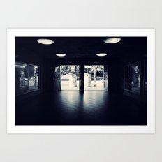 Abandoned Train Station, Berlin Art Print