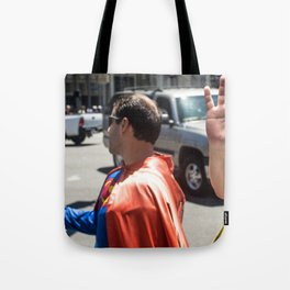 Super and spider Tote Bag