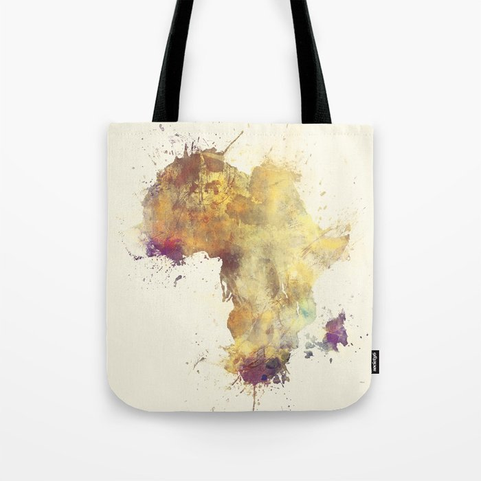 Africa map 5 #africa Tote Bag