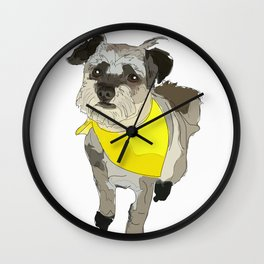 Thor the Rescue Dog Wall Clock