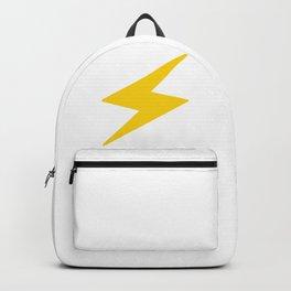 Lightning Bolt Logo Backpack