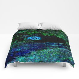 Enchanted Forest Path Comforters