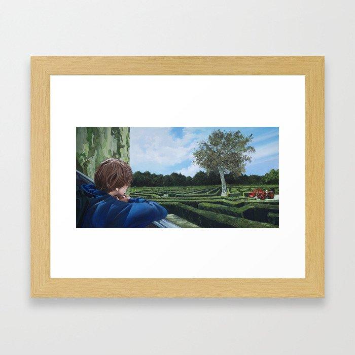 The Labyrinth Framed Art Print