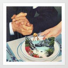 Bermuda a'la Soup Art Print