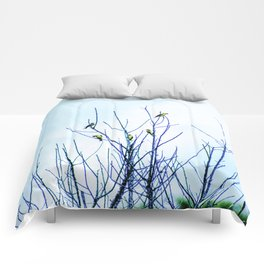 Goldfinches in a Tree Comforters