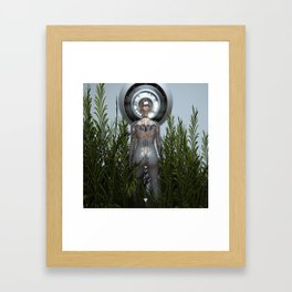 GREETINGS ∀ Framed Art Print